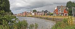 Hoogkerk langs het water (willemsknol) Tags: hoogkerk groningen willemsknol