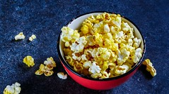 10 Healthy Monsoon Snacks2 (mohanrajdurairaj) Tags: food white cinema classic yellow closeup movie table healthy corn theater background salt tasty coke bowl pop fresh container delicious salty butter snack popcorn slate buttered diet kernel nutrition