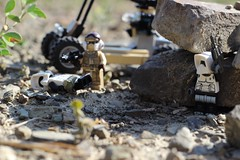 """""""You're going to pay for this Rebel Scum!"""" (kevinmboots77) Tags: rebels stormtroopers scouttroopers starwars legography lego"""