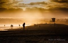 Summer Sunset at Coronado Beach (Wei, Willa) Tags: beach coronadobeach coronado sandiego
