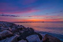 Sunset (Tomek Ferenc) Tags: ifttt 500px sunset water sea dusk dawn seashore no person ocean beach evening sky landscape seascape travel sun outdoors nature rock island bay