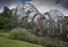 Bombay Sapphire Greenhouse (Simon Saint) Tags: glasshouse greenhouse bombaysapphire gin hampshire laverstoke