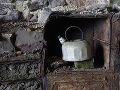 23_07_2016_1224 (andysuttonphotography) Tags: old kettle steep holm fire place fireplace ruin