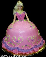 M00739 (merrittsbakery) Tags: cake shaped barbie doll toy princess