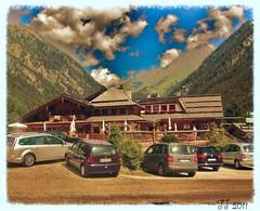 Locale tipico di Valles (triziofrancesco) Tags: monti montagne mountains alps alpi legno verde green altoadige sudtyrol valles tipico rustico colours