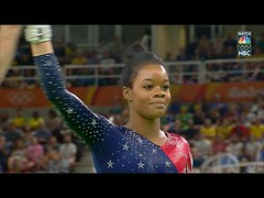Gabby Douglas nearly flawless on uneven bar routine (Download Youtube Videos Online) Tags: gabby douglas nearly flawless uneven bar routine