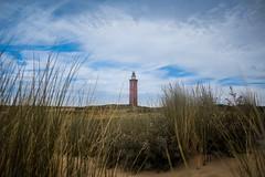 Asleep (the_wonderer_wanderer) Tags: lighthouse netherlands holland nederland tall grass dune cloudy landscape urbannature sand travel architecture