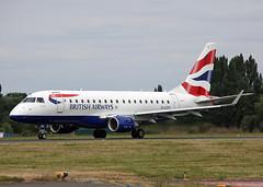 G-LCYI Embraer 170 British Airways (Keith B Pics) Tags: glcyi embraer e170 ba britishairways sen egmc southend cityflyer keithbpics londonsouthendairport