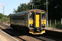 153322 Benjamin Britten (uktrainpics) Tags: class 153 diesel unit 153322 benjamin britten