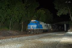 NS 216 at 79.4 with NS 4001 Sonic Bonnet (travisnewman100) Tags: ac44c6m ns norfolk southern sonic bonnet freight intermodal rome georgia division atlanta north district 4001 train railroad 216 ge
