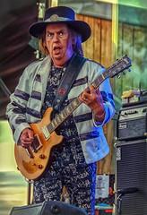 Dave Hill (Dale Michelsohn) Tags: slade sladeandsweet davehill rock band guitar glam group gig concert dalemichelsohn skansen sweden nikon d7000 gibson
