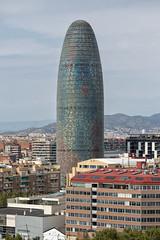 Barcelona - Torre Agbar - 2016 (avda-foto) Tags: barcelona torre agbar 2016 tower spain tourismus tourism landmark wahrzeichen turm spanien highlight