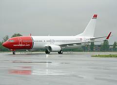 EI-FJU (Skidmarks_1) Tags: eifju norwegianairinternational boeing737800 aviation aircraft airport airliners engm norway osl oslogardermoenairport