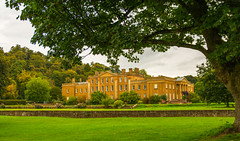 I Never Tire Of Photographing Himley Hall (williamrandle) Tags: framedshot himleyhall estate house dudley westmidlands uk 2016 autumn outdoor trees lawns green nikon d7100 tamron2470f28vc beauty building stone architecture plant tree