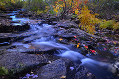 Streams of Acadia Color (mbryan777) Tags: d8j8343cx6x4 acadianationalpark maine fall colors leaves stream water flowing rocks foliage red yellow green beautiful mbryan777 breakthroughphotography x4 neutral density nd filter 6stop nikkor 1835 g ed