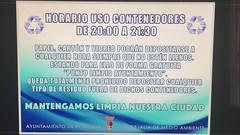 IMG-20160914-WA0019 (M. Jaln) Tags: uso contenedores horario concejala medio ambiente porcuna ayuntamiento basura