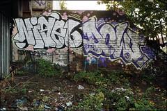 Nigel / Dowt (Alex Ellison) Tags: nigel tnf dowt dfn hackneywick hw eastlondon urban graffiti graff boobs