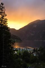 Sunset in Geiranger (dbrsc) Tags: sunset geiranger norway