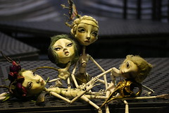 053 (fantoche art dolls) Tags: scenografie fantoche oana micu art dolls papusi objects theatrical costumes doll stand scenography magical nostalgia