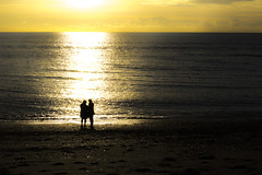 DSC_1486 (Kaloyan Cholakov) Tags: aberystwyth seaside people silhouette sea sunshine sun
