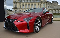 2016 Lexus LC 500 (pontfire) Tags: 2016 lexus lc japan japanese car cars auto autos automobile automobiles voiture voitures coche coches carro carros wagen red rouge prototype concept v8 luxe luxury pontfire chantillyartslgance chantillyartsetlgance automobili classic old antique oldtimer collection vieille