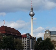 Television Tower - Fernsehturm - Berlin (Gilli8888) Tags: germany berlin tourists buildings architecture tower televisiontower fernsehturm cityscape