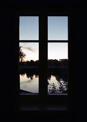 The Window (Niksuski) Tags: film buyfilmnotmegapixels oulu lasarettihotel hotel window sunset twilight contrast fujicaax1 50mm fullframe finland suomi northerneurope europe