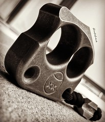 Afrankart DFK mutant in brass (edcbyfrank) Tags: everydaycarry edc afrankart andyfrankart brass knucks