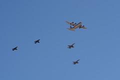 Fueling Demo (linda m bell) Tags: mcas miramar airshow 2016 california aircraft socal magtf demo kc130j superhercules av8b harrier f18 hornet