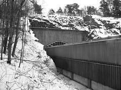 Grdstenstunneln, Grdsten, Gteborg, 2012 (biketommy999) Tags: 2012 gteborg grdsten vinter svartvitt blackandwhite winter