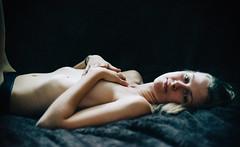 Alex (Nathan.Donoghue) Tags: female girl model underwear boudoire boudoir body nikon lightroom d800 light highlights naturallight grain texture