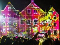 double density (werner boehm *) Tags: werner lightshow nachtaufnahme lichter farben