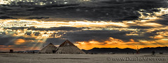 Pyramid Sunrise, Burning Man (Dust To Ashes) Tags: burningmanfestival burningman2016 burningman davincisworkshop bm2016 2016 dust ashes dusttoashes wwwdusttoashescom sculpture sculptures installation installations surreal duststorm playa desert nevada gerlach nv blackrockcity brc reno art burningmanart party desertparty people photography photos photo picture pictures ales summerfestival summervacation desertlandscapape catacomb veils by dan sullivan massive pyramids sunset best