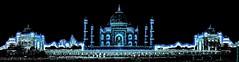 India - Uttar Pradesh - Agra - Taj Mahal - 22db (asienman) Tags: india uttarpradesh agra tajmahal asienmanphotography asienmanphotoart unescoworldheritagesite mughalarchitecture muslimart