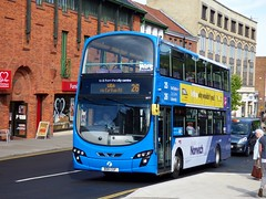 FirstNorwich 36177 - BD11CGF (Zak (Norwich Bus Page)) Tags: firstnorwich blueline bd11cgf 36177 routefec26 volvob9tlwrighteclipsegemini2 2016