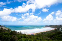 Nothing's going to change my world (William Solis) Tags: ocean sky beach nikon australia nsw northernbeaches d610 bungan 1835mm