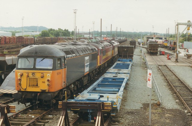 Warrington Arpley Depot Over-View