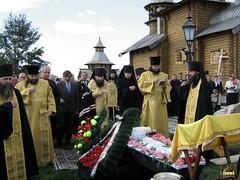 128. Захоронение солдат на Всехсвятском скиту 2006 г