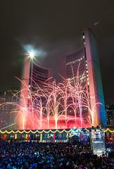 Cavalcade_of_Lights_2014-6530 (suesthegrl) Tags: toronto festival holidays fireworks cityhall christmaslights torontocityhall nathanphillipssquare 2014 cavalcade cavalcadeoflights torontospecialevents