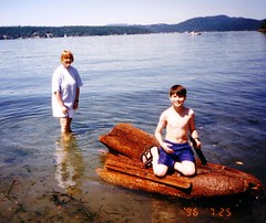 Boating on Lake Washington (William Brubaker) Tags: michael maryb