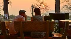 (WashSky&Sea) Tags: nikon couple cambodge contrejour coucherdesoleil kampot d3200 couleurschaudes steevelegalphotographie