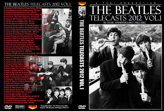 The Beatles Telecasts 2012 Vol 1