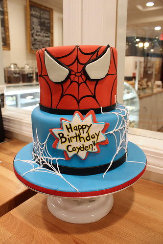 Spiderman Birthday Custom