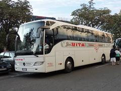 DSCN9179 V.i.t.a. Spa, Arnad DE-097ZS (Skillsbus) Tags: italy france buses mercedes coaches vita lourdes tourismo