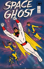 Space Ghost Comic Book (Comico 1987) (Donald Deveau) Tags: cartoon comicbook spaceghost tvshow hannabarbera steverude 1960stv