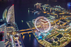 Yokohama night view (shinichiro*) Tags: winter japan december nightview yokohama kanagawa  crazyshin birdseye foveon 2014  dp2q sigmadp2quattro 20141228sdim00152 16131306545 201511gettyupload