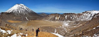 Tongariro South Crater Panorama, New Zealand