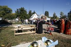 196. Освящение и подъем крестов в Долине 2009 г