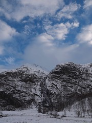 steall and snow (michaelc86) Tags: winter snow scotland waterfall falls glen nevis steall