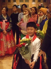 Disabled North Korean singer Choe Jin Bom (mtrank) Tags: london disabled northkorea dula dprk royalcollegeofmusic northkorean  choejinbom choijinbeom
